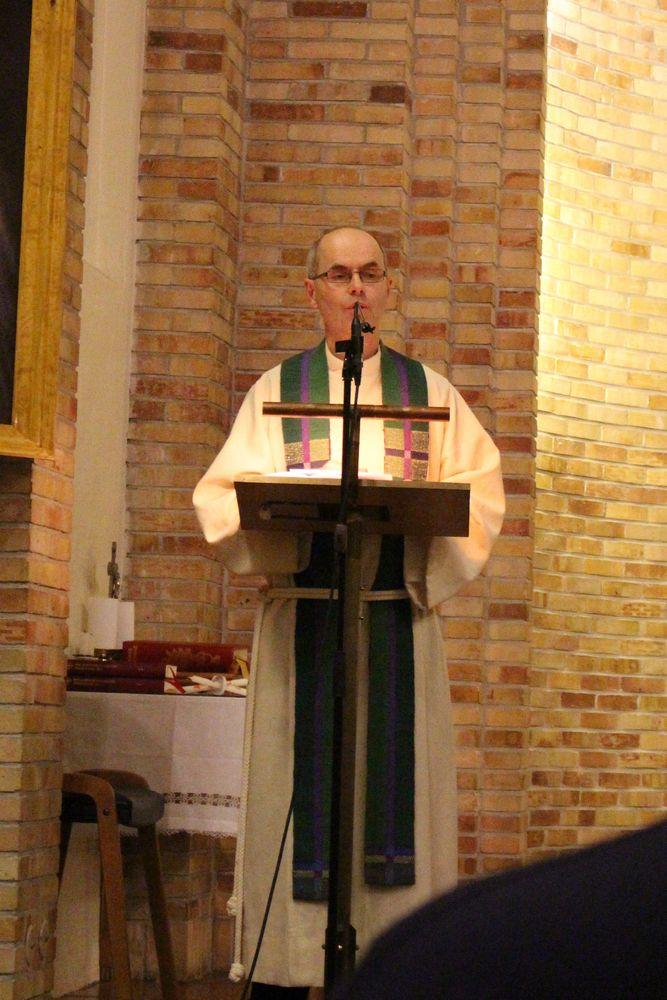 Preken ved sogneprest i Biskopshavn Tor Martin Koppang