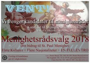 Plakat Før Valg 180418